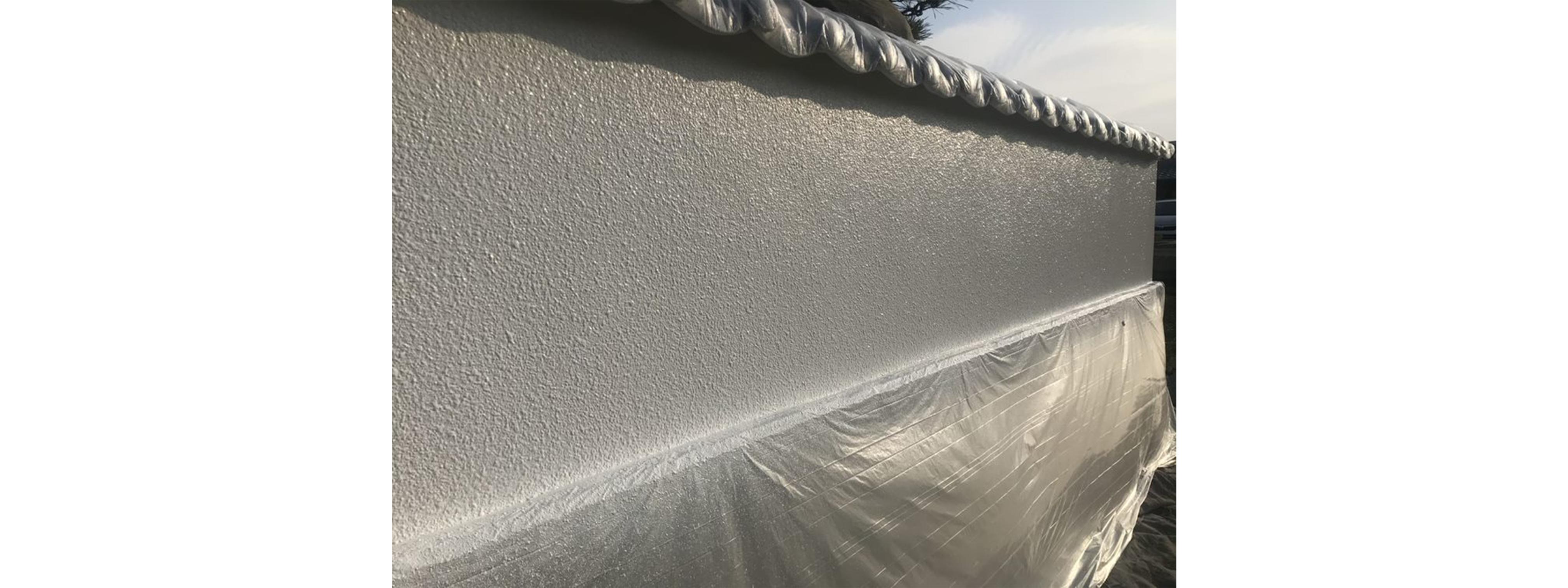 塀 塗装完了